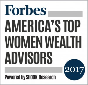 "On Forbes' inaugural list of ""America's Top Women Advisors"", Karen C. Altfest, Ph.D., CFP®, ranked #17 out of 200 female advisors."